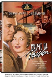 Crime of Passion (1957) DVD Releases