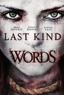 Last Kind Words (2012) DVD Releases