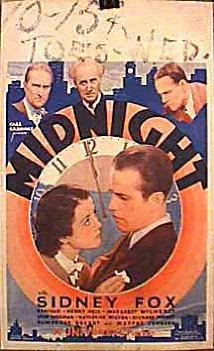 Midnight (1934) DVD Releases