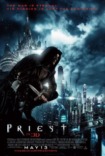 Priest (2011) DVD Releases