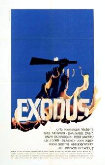 Paul Newman Starer Exodus Movie (1960) Release