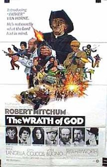 Robert Mitchum Starer The Wrath of God Movie (1972) Release