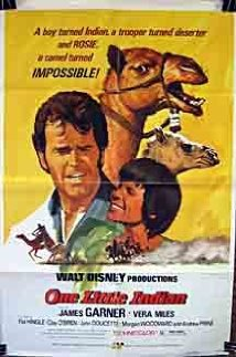 James Garner Starer One Little Indian (1973) Movie Release